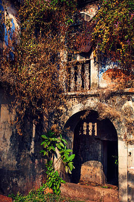 Old Portuguese House. Goa. India Poster by Jenny Rainbow