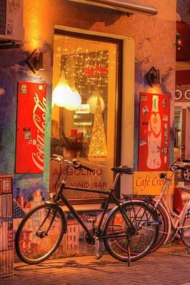 Old Pub At Dusk Poster by Torsten Krueger