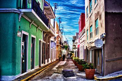 Old San Juan Poster by Jarrod Erbe
