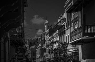 Old San Juan Poster by Mario Celzner