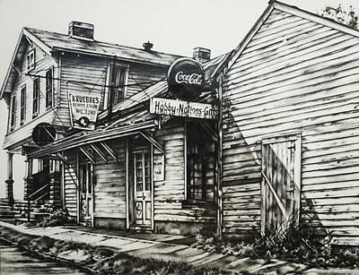 Old Shawneetown Poster by Michael Lee Summers