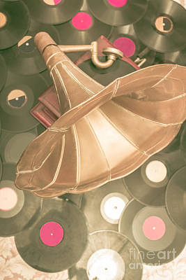 Old Vinyl Record Gramophone Poster by Jorgo Photography - Wall Art Gallery