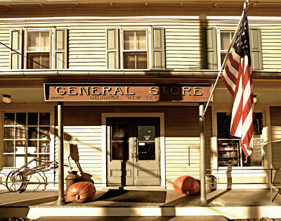 Oldwick General Store Poster by George Oze