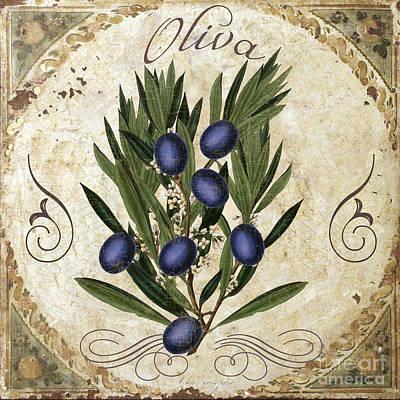 Oliva Black Olives Poster by Mindy Sommers