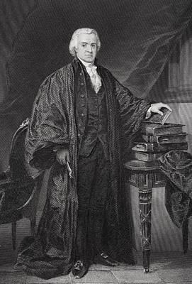 Oliver Ellsworth 1745-1807 Poster by Vintage Design Pics