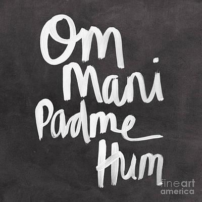 Om Mani Padme Hum Poster by Linda Woods