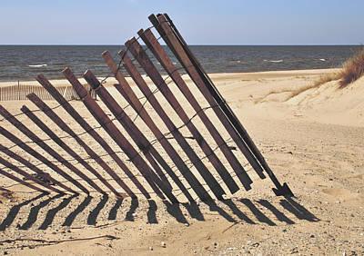 On The Beach Poster by Odd Jeppesen