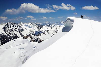 On The Top. Pamir Poster by Konstantin Dikovsky