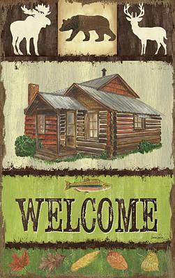Open Season Panel Poster by Debbie DeWitt