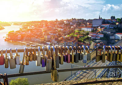 Oporto Is For Lovers Poster by Carlos Caetano