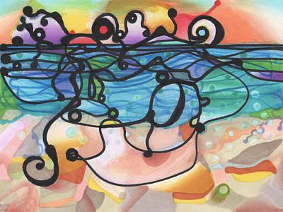 Optimism Poster by Regina Valluzzi