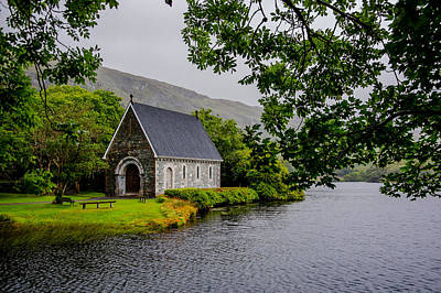 Oratory In Gougane Barra National Park In Ireland Poster by Andreas Berthold