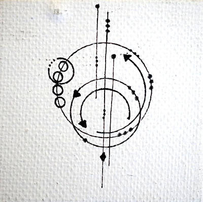 Orbit #001 Poster by Sinta Jimenez
