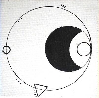 Orbit #002 Poster by Sinta Jimenez
