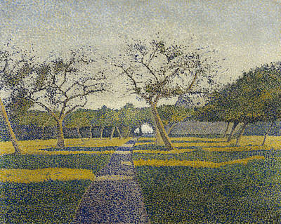Orchard At La Louviere Poster by Alfred William Finch