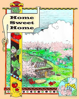 Orchard Home Poster by William Krupinski