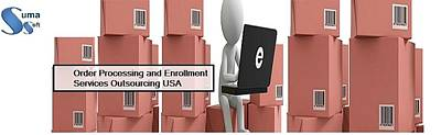 Order Processing And Enrollment Services Outsourcing Usa Poster by Neha Sharma
