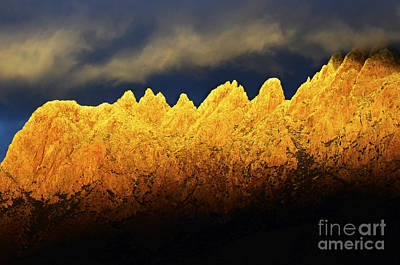 Organ Mountains Land Of Enchantment 1 Poster by Bob Christopher