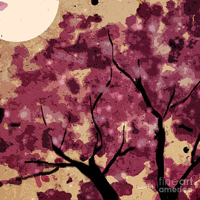 Oriental Plum Blossom Poster by Xueling Zou