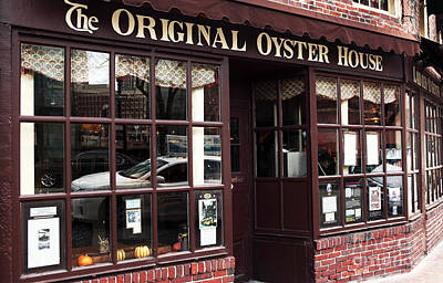 Original Oyster House Poster by John Rizzuto