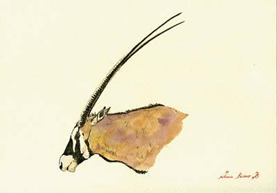 Oryx Poster by Juan  Bosco