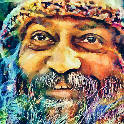 Osho Poster by Sampad Art