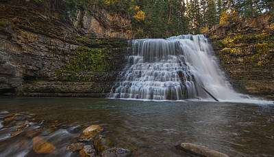 Ousel Falls Poster by Loree Johnson