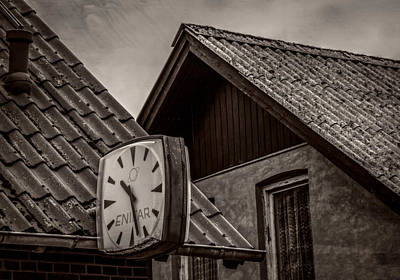 Out Of Time Poster by Odd Jeppesen