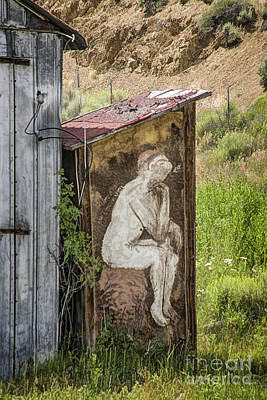 Outhouse Art Poster by Priscilla Burgers