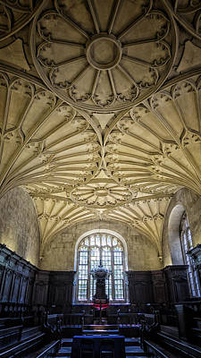 Oxford University Convocation House Poster by Stephen Stookey