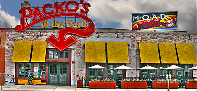 Packo's At The Park Poster by Jack Schultz