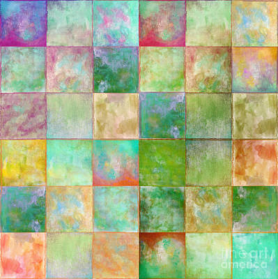 Paintbox Poster by Mindy Sommers