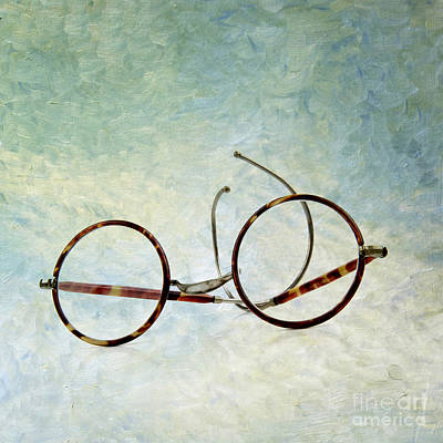 Pair Of Glasses Poster by Bernard Jaubert
