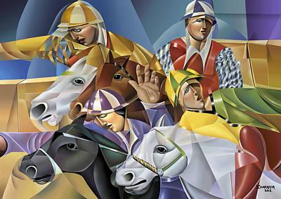 Palio Poster by Bruno Sciaraffia
