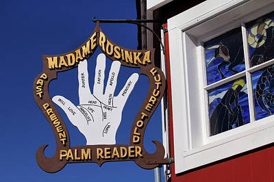 Palm Reader Poster by Art Block Collections