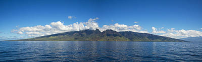 Panoramic West Maui Poster by Dave Fleetham - Printscapes