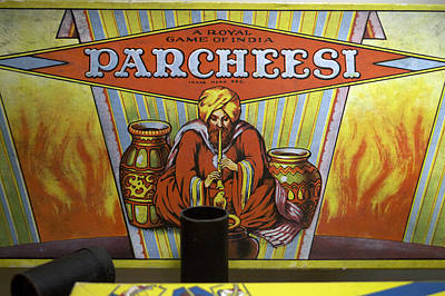 Parcheesi Board Game Poster by Thomas Woolworth
