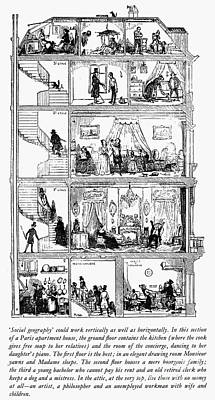 Paris: Apartment House Poster by Granger