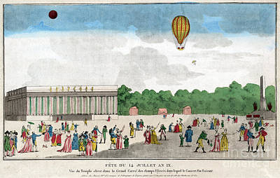Paris: Bastille Day, C1801 Poster by Granger