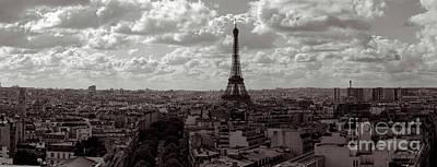 Paris Poster by Joerg Lingnau