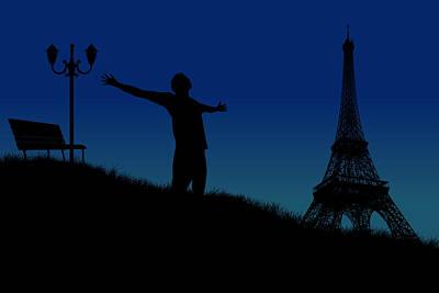 Paris Why Poster by Joe Hamilton