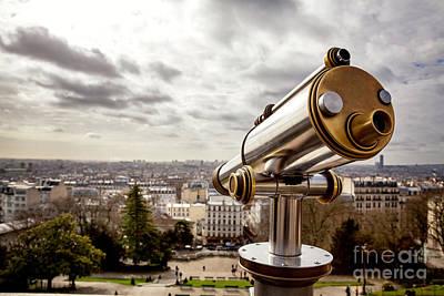 Parisian View Poster by Jane Rix