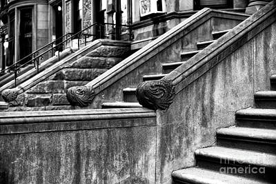 Park Slope Stairs Poster by John Rizzuto
