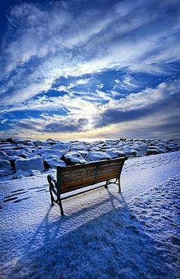 Passing The Time Away Poster by Phil Koch