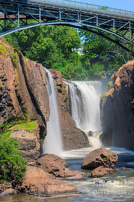 Paterson Great Falls I Poster by Clarence Holmes