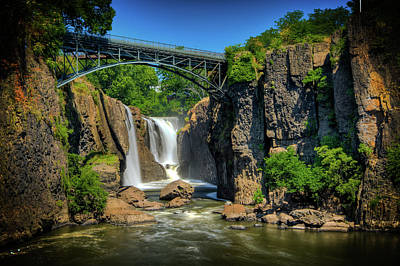 Paterson's Great Falls I Poster by David Hahn