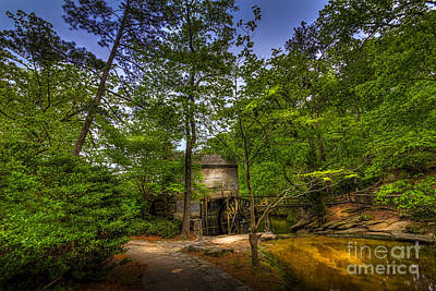 Path To The Mill Poster by Marvin Spates