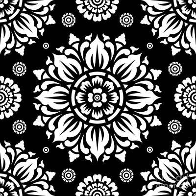 Pattern Art 01-1 Poster by Bobbi Freelance