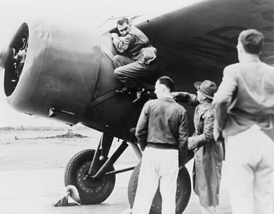 Paul Mantz, Stunt Pilot And Air Racer Poster by Everett
