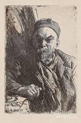 Paul Verlaine II Poster by Anders Zorn